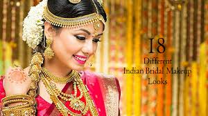 18 diffe indian bridal makeup looks
