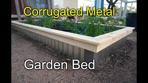 corrugated raised beds for my garden