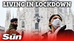 Italy lockdown is like 'being at war ...