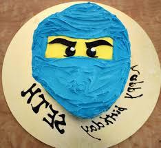 Easy Ninjago Cakes With Blue Buttercream Ideas