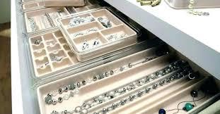 jewelry drawer organizer diy لم يسبق له
