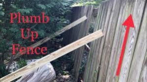 How To Repair Leaning Fences The Honest Carpenter