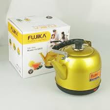 Ấm siêu tốc 5L Fujika FJ-SD45 thân ấm inox phun sơn tĩnh điện chịu nhiệt,  công suất 1500W, Màu ngẫu nhiên - Fujika FJ-SD45