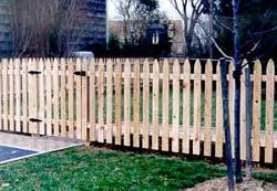 2 1 2in Spaced Picket Wood Fence Academy Fence Company Nj Pa Ny