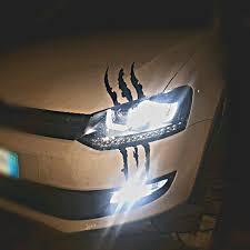 Claw Scar Mark Decal Hood Headlight Scratch Car Reflective Vehicle Camaro Marks
