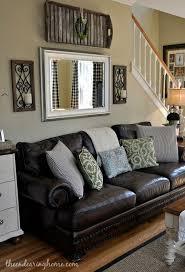 outstanding brown sofa living room