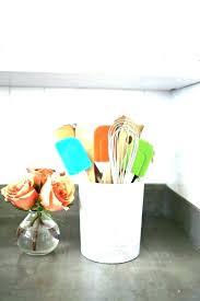 kitchen utensil holder ideas storage