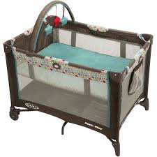 Graco Pack N Play On The Go Playard With Folding Bassinet Twister Walmart Com Walmart Com