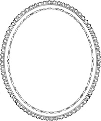 free mirror clipart black and white