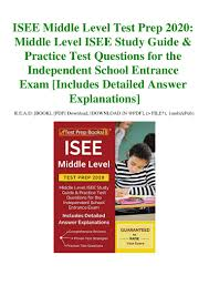 read online ISEE-MIDDLE-LEVEL-TEST-PREP-2020-MIDDLE-LEVEL-ISEE-STUDY-…