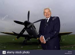 TOP SCORING WORLD WAR TWO RAF FIGHTER PILOT JOHNNIE JOHNSON WITH ...