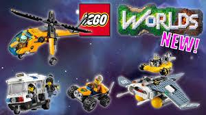 LEGO Worlds: NEW! NINJAGO and LEGO City Vehicle Codes - YouTube