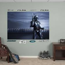 Star Wars Jango Fett Clone Army Mural Wall Decal