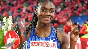 Dina Asher-Smith 'destroys' Elaine Thompson and Dafne Schippers in the 200m  in Stockholm - BBC Sport