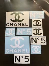 Coco Chanel Decal Stickers 10 Pack Models Limited Fashion No 5 Perfume Monroe Eur 6 77 Picclick Fr