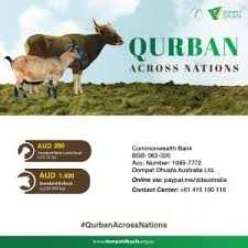 qurban across nations let s run the qurban and make them smile
