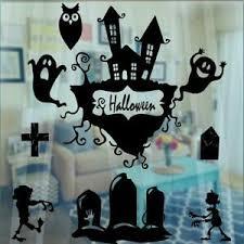 Spooky Halloween Castle Scary Gothic Vinyl Decal Sticker Car Window Wall Art Ebay