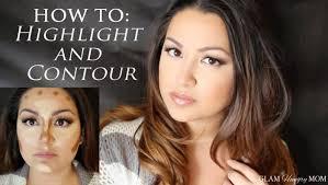 how to highlight and contour like kim