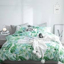 tropical leaf print country chic