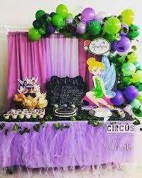 Fiesta Infantil Con Tematica De Campanita Invitaciones Y