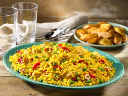 easy arroz con pollo recipe food network