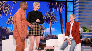 Charlize Theron Gets a Surprise Visit from Michael B. Jordan - YouTube