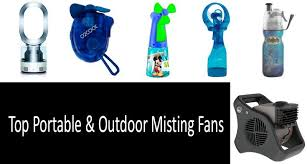 top 8 misting fans from personal to