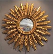 sunburst mirror gold mirror