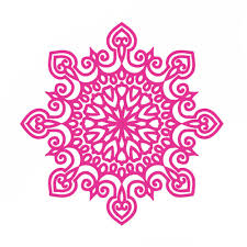 Wall Decals Mandala Yoga Ornament Indian Buddha Decal Vinyl Sticker Lotus Flower Home Decoration Murals 56 56cm Rose Red Indian Home Decor Olivia Decor Decor For Your Home And Office