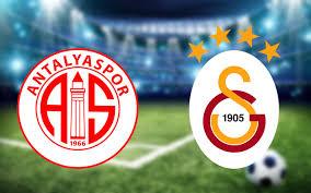 Antalyaspor Galatasaray maçı CANLI YAYIN - Internet Haber
