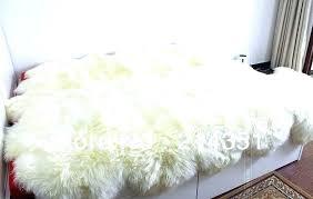 ikea sheep rug faux sheepskin rug white