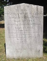 Priscilla Webb Williams (1783-1871) - Find A Grave Memorial