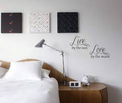 Amazon Com Live By The Sun Love By The Moon Vinyl Wall Decal Home Kitchen