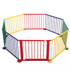 Wooden 8 Panel Baby Playpen Safety Activity Centre Children Play Space Yard Home Indoor Outdoor Fence Easy To Assemble Ty0464 Baby Playpens Aliexpress