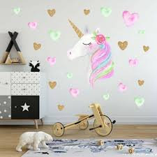 Rainbow Wall Stickers Ebay Unicorn Australia Not On The High Street Design Decals Nz Removable Vamosrayos