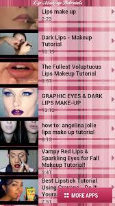 lip makeup tutorials free apk