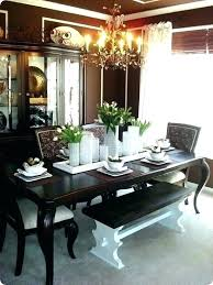 Farmhouse Dining Table Centerpiece Ideas Modern Room Decor Pictures Centerpieces Saltandblues