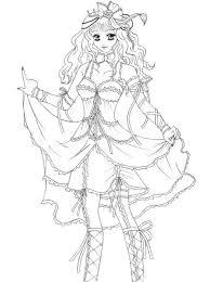 Anti Stress Kleurplaten Prinsessen Manga Princess 9