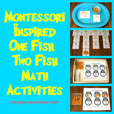 one fish two fish math activities