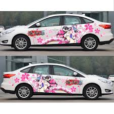 Japanese Itasha Car Decals Boa Hancock Stickers Anime Camouflage Sticker Auto Door Drift Racing Decal Car Stickers Aliexpress