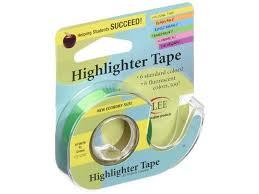 highlighter tape knit chart