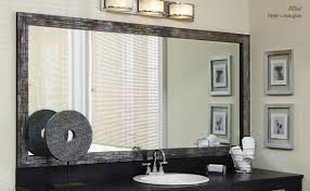 frames awesome fulgurant framed vanity