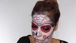 face day of the dead makeup tutorial