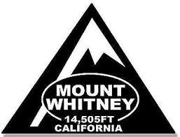 Amazon Com Jr Studio 3x4 Inch Black Triangle Mount Whitney 14 505ft California Sticker Climb Mt Ca Vinyl Decal Sticker Car Waterproof Car Decal Bumper Sticker Kitchen Dining