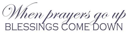Decal Vinyl Wall Sticker When Prayers Go Up Blessings Come Down Quote Contemporary Wall Decals By Design With Vinyl