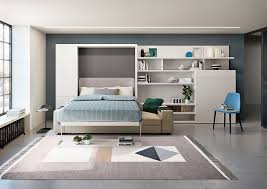 vertical queen wall bed with sofa