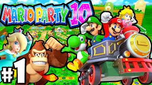 mario party 10 wii u 2 player part 1