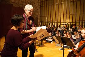 Abbie Betinis at Knox College | Composer Abbie Betinis and K… | Flickr