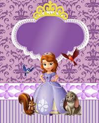 Kit Personalizados Tema Princesa Sofia Com Imagens Princesa Sofia