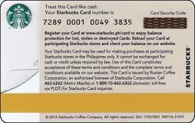 gift card pilipinas eagle starbucks